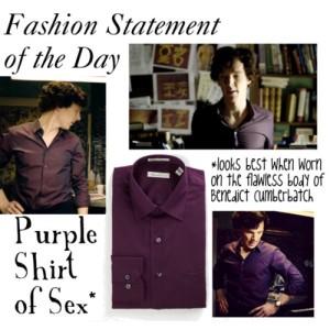 Purple Shirt