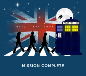 Doctor Who Beetles British Mission Complete