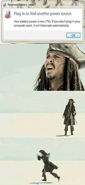 Captain Jack Sparrow Plug In Computer