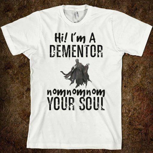 Hi I'm a Dementor. nomnomnom your soul