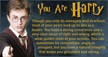 you are harry